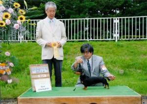 2013年6月29日岩手県青年愛犬クラブ展Demi New Ch